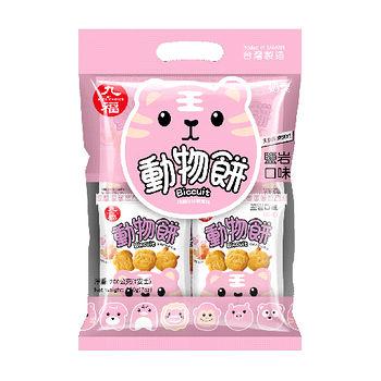 九福動物餅 (岩鹽口味)200g