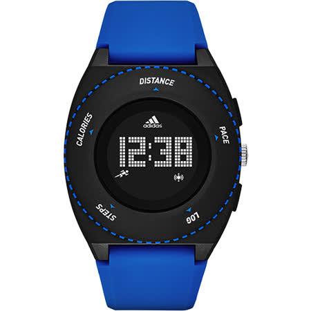 adidas Urban Runner 都會跑者系列卡路里顯示智慧路跑錶-藍/45mm ADP3201