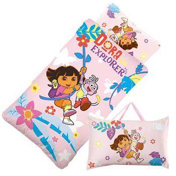 Babytiger虎兒寶 卡通造型幼教兒童睡袋 朵拉 Dora