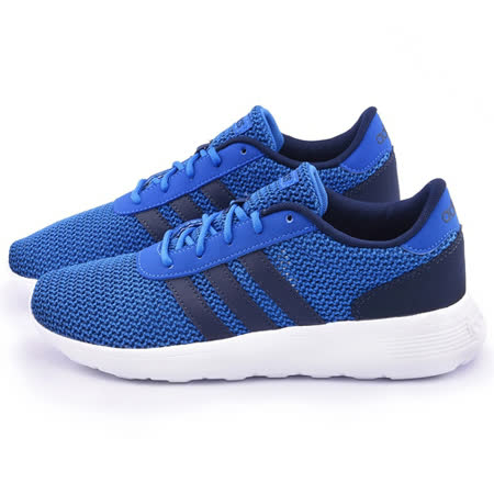 Adidas 男款 Lite Racer M 輕量慢跑鞋F99418-藍