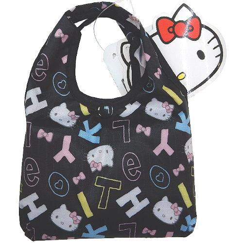 【波克貓哈日網】旅行環保便利商品◇隨身購物袋◇《Hello kitty 凱蒂貓》