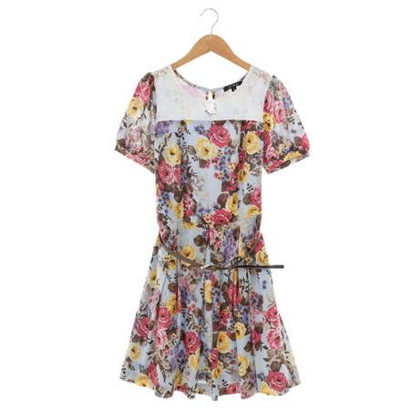 XING 花漾洋裝