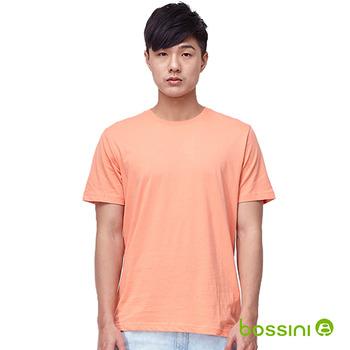 bossini男裝-素色圓領T恤13橘