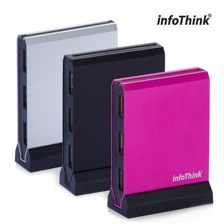 InfoThink 直立式 ATM x HUB 多合一片讀卡機 IT-926U