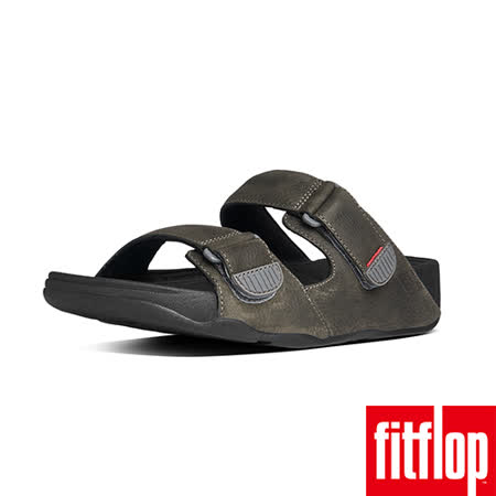 FitFlop™-(男款) GOGH™ SLIDE ADJUSTABLE-炭灰