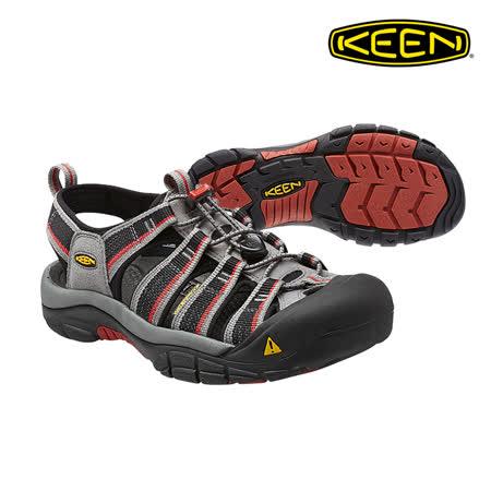 KEEN 織帶涼鞋Newport H2 1014182《男款》/ 城市綠洲