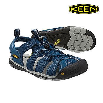 KEEN 織帶涼鞋Clearwater CNX 1014454《男款》/ 城市綠洲