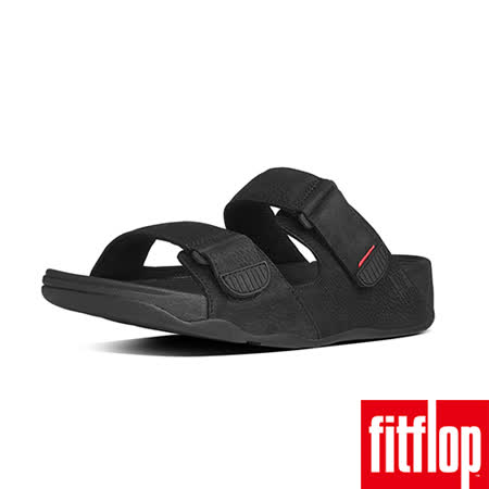 FitFlop™-(男款) GOGH™ SLIDE ADJUSTABLE-黑色