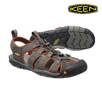 KEEN 織帶涼鞋Clearwater CNX 1014456《男款》/ 城市綠洲