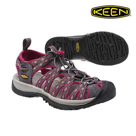 KEEN 織帶涼鞋Whisper 1014204《女款》/ 城市綠洲