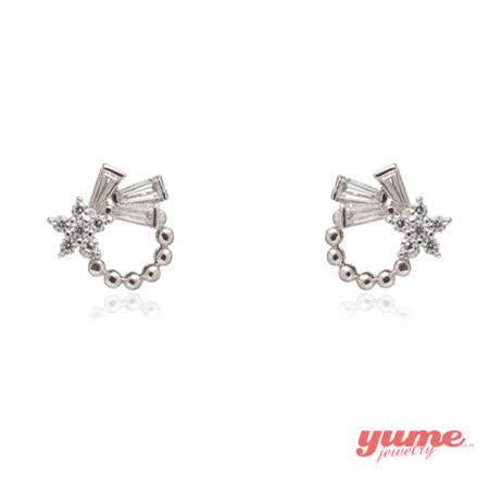 【YUME】星星緞帶耳環