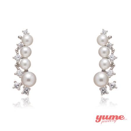 【YUME】流星珍珠耳環