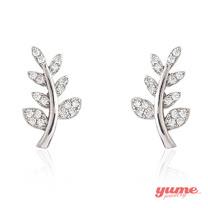 【YUME】桂冠之葉耳環