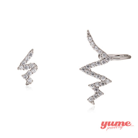 【YUME】心跳旋律不對稱耳環