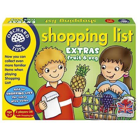 【英國Orchard Toys】桌遊-蔬果採買趣