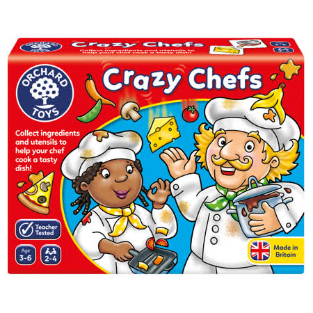 【英國Orchard Toys】桌遊-瘋狂廚師