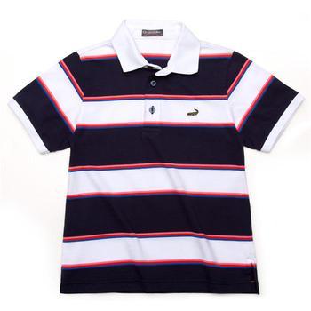 『小鱷魚童裝』經典棉質條紋POLO衫(12號~14號)335101