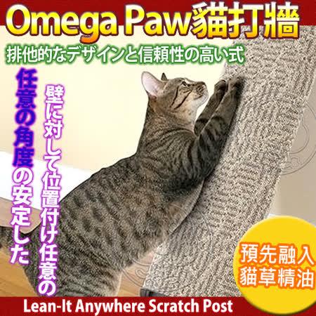 Omega Paw 加拿大貓咪系列》貓打牆-地毯貓草精油抓板
