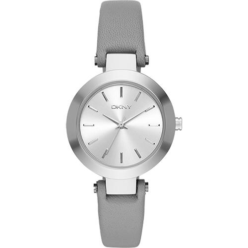 DKNY Stanhope 風采 腕錶~銀x灰28mm NY2456