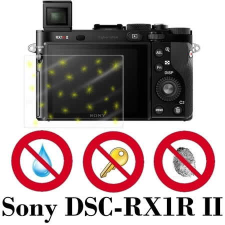 D&A Sony DSC-RX1R II相機專用日本原膜5H螢幕保護貼(NEW AS玻璃奈米)