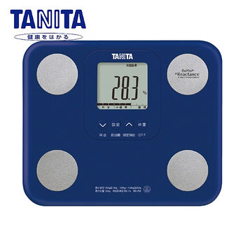 TANITA七合一自動辨識體脂肪計藍