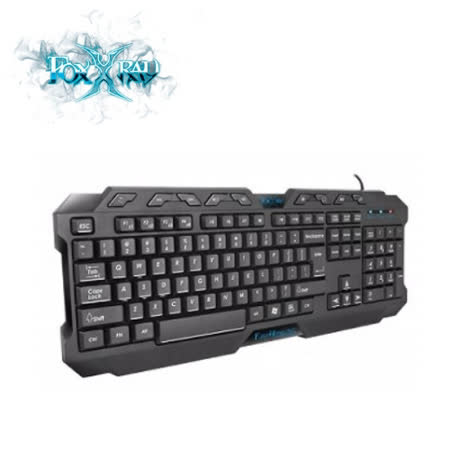 FOXXRAY FXR-BK-03 怒嚎戰狐電競鍵盤