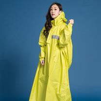 OutPerform-頂峰360度全方位太空背包雨衣(長版)-芥末黃