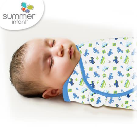 美國Summer Infant 聰明懶人育兒包巾-小號,車車世界