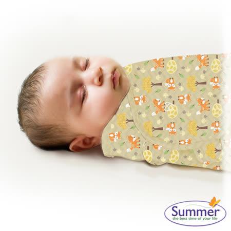 美國Summer Infant 聰明懶人育兒包巾-小號,麻吉狐狸