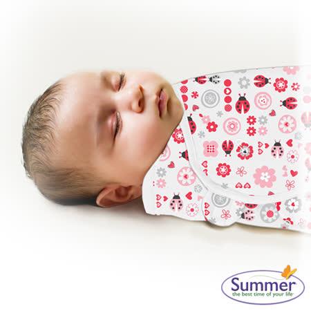 美國Summer Infant 聰明懶人育兒包巾-小號,淑女瓢蟲
