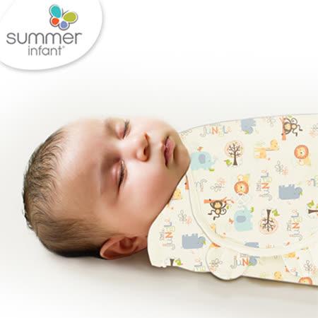 美國Summer Infant 聰明懶人育兒包巾-小號,童趣森林