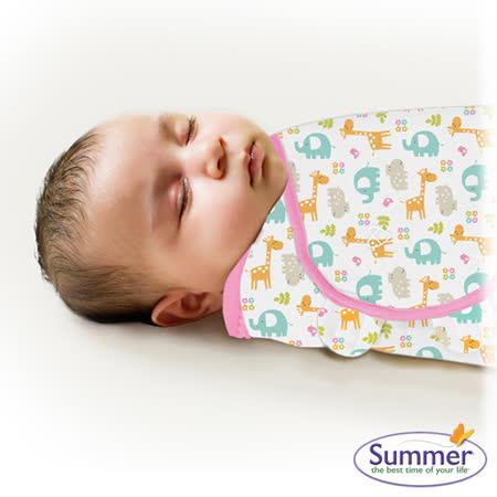 美國Summer Infant 聰明懶人育兒包巾-小號,動物派對