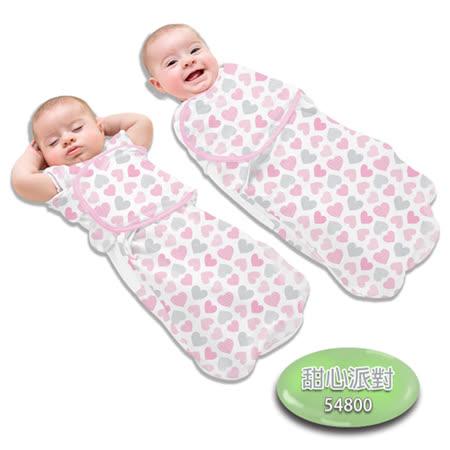 美國Summer Infant 2合1聰明懶人育兒睡袋-加大,甜心派對