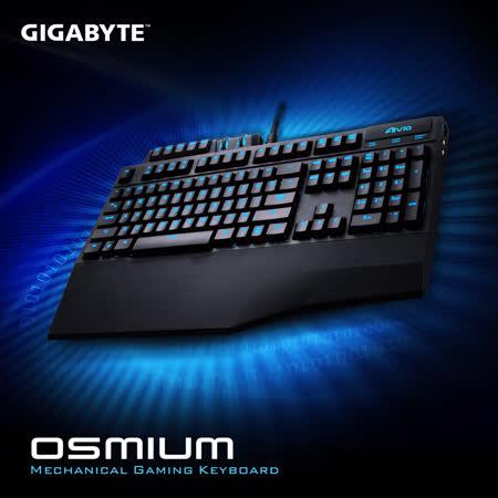 技嘉 GIGABYTE Aivia Osmium 奧斯曼 機械式遊戲鍵盤 (紅軸)