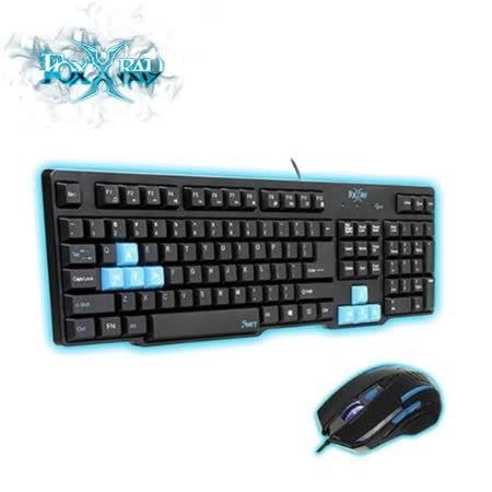 FOXXRAY 迅疾戰狐電競鍵盤滑鼠組合包 FXR-CKM-01