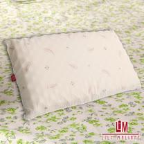 【Lily Malane】天然透氣按摩乳膠枕(二入) 100%純天然乳膠╭*☆