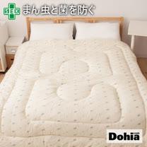 《Dohia》SEK認證-防蹣抗菌單人混羊毛被。精選高級羊毛製造!
