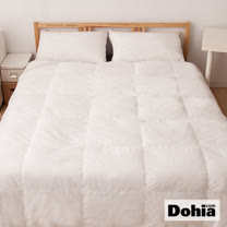 《Dohia》水鳥羽絨98%/羽毛2%特級雙人羽絨被。精選頂級羽絨製造,最保暖、最輕巧!