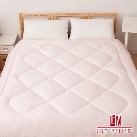 【Lily Malane】可水洗透氣四孔健康被。獨特可水洗四孔棉,蓬鬆保暖最舒適~台灣精製~