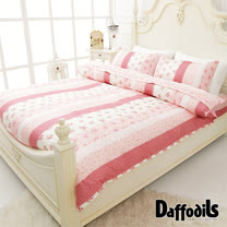 Daffodils《甜心莊園》精梳純棉雙人加大四件式薄被套床包組