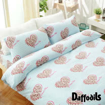 Daffodils《甜蜜時光》超保暖雪芙絨單人三件式被套床包組