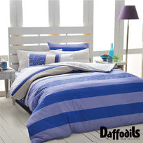 Daffodils 來自星星 雙人加大四件式純棉被套床包組,精梳純棉/台灣精製
