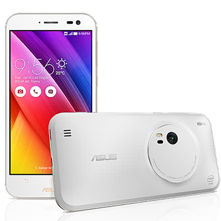 ASUS 華碩 ZenFone Zoom ZX551ML 4G/128G 5.5吋FHD LTE 智慧型手機(黑色/白色)-【送螢幕保護貼】