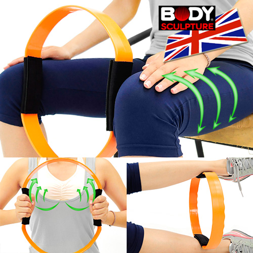 【BODY SCULPTURE】加強版彈力韻律圈C016-6330 健身圈美腿夾瑜珈圈美體圈.貝殼機剪肥圈瑜珈環健美環美腿機.普拉提圈運動器材