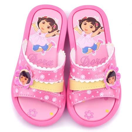 【網購】gohappy快樂購童鞋城堡-朵拉 中大童 戶外拖鞋DR2967-粉評價如何網 路 買 相機