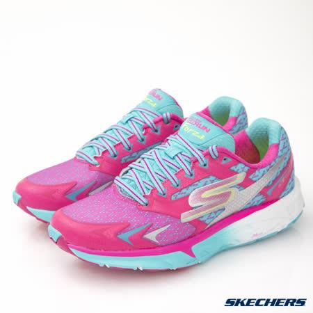 SKECHERS (女) 跑步系列 GO Run Forza - 14105HPBL