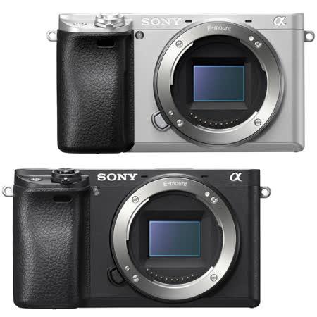 SONY A6300 單機身組(公司貨).-送FW50原廠鋰電池+64G記憶卡+FW50充電器+減壓背帶+清潔組+保護貼+讀卡機