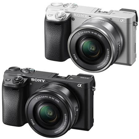 SONY A6300L 16-50mm變焦鏡組(公司貨).-送32GC10卡+FW50充電器+FW50專用鋰電池+大吹球+拭鏡筆+拭鏡布+保護貼+讀卡機