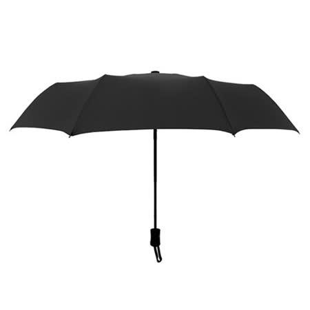 PUSH! 好聚好傘, 自動傘雨傘遮陽傘晴雨傘三摺傘I28黑色