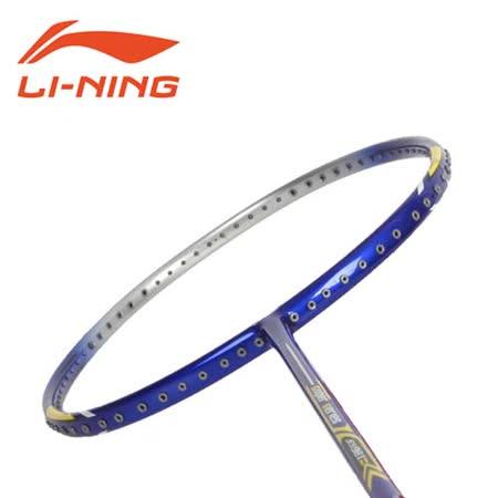 LI-NING SS-98 II - 空拍 附球拍袋 羽球拍 羽毛球拍  藍黃 F